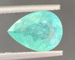 Paraiba 1.85Carats Natural Color Tourmaline Gemstone