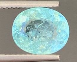 Paraiba 2.70 Carats Natural Color Paraiba Tourmaline Gemstone