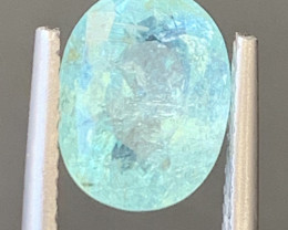 Paraiba 2.45 Carats Natural Color Tourmaline Gemstone