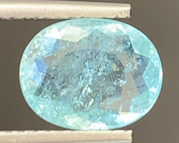 Paraiba 1.65 Carats Natural Color Tourmaline Gemstone
