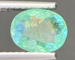 Paraiba 1.25 Carats Natural Color Paraiba  Tourmaline Gemstone