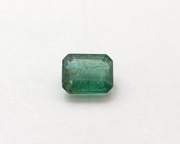 Emerald, 1.38ct, Step Cut, Zambian