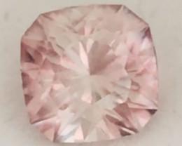 Precision Cut 2.39ct Congalese Peach Pink Tourmaline - 2267