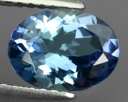 1.55 Cts Extreme Oval Cut 8.65X6.57 mm Natural Nice Blue Tanzanite!!