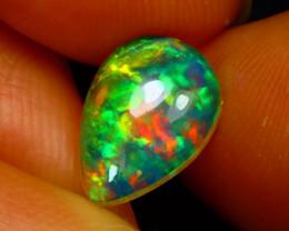 Welo Opal 1.21Ct Natural Ethiopian Play of Color Opal E0135/A28