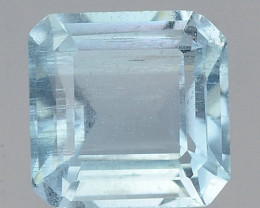 0.82 CTS  SKY BLUE COLOR NATURAL AQUAMARINE LOOSE GEMSTONE