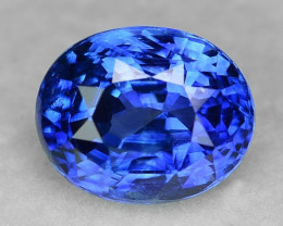 2.99 Cts GIA Certified e Natural Fancy Royal Blue Ceylon Sapphire Loose Gem