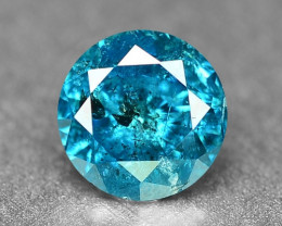 0.23 Cts Sparkling Rare Fancy Intense Blue Color Natural Loose Diamond