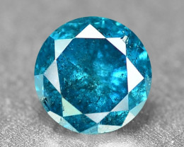 0.18 Cts Sparkling Rare Fancy Intense Blue Color Natural Loose Diamond