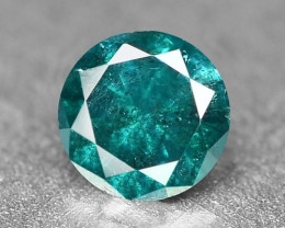 0.10 Cts Sparkling Rare Fancy Greenish Blue Color Natural Loose Diamond
