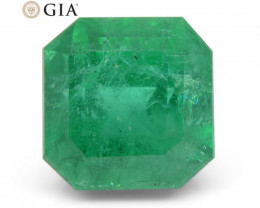 4.97 ct Octagonal/Emerald Cut Emerald GIA Certified