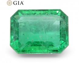2.75 ct Octagonal/Emerald Cut Emerald GIA Certified