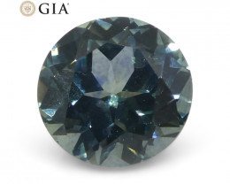 1.15 ct Round Sapphire GIA Certified USA (Montana)