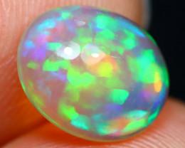 Welo Opal 1.82Ct Natural Ethiopian Rolling Flash Color Welo Opal B2707