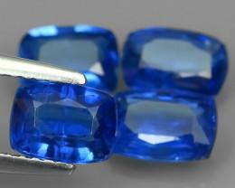 4.40 CTS EXCELLENT CORNFLOWER BLUE KYANITE CUSHION GEM!