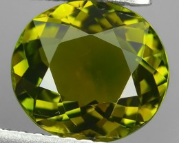 1.65 CTS EXCELLENT GREEN TOURMALINE OVAL MOZAMBIQ NR!!