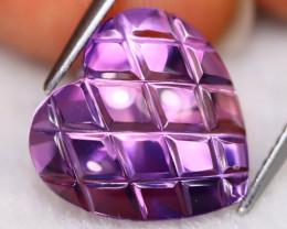 Amethyst 8.64Ct VVS Natural Designer Cut Bolivian Purple Amethyst B2122