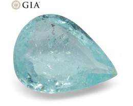 1.76 ct Pear Paraìba Tourmaline GIA Certified Mozambique