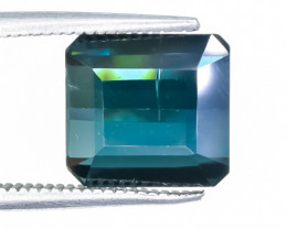 4.31 Crt Natural Tourmaline Faceted Gemstone.( AB 55)