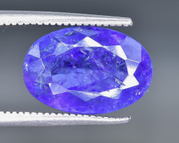 5.09 Crt Natural Tanzanite  Faceted Gemstone.( AB 55)