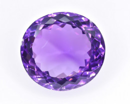 15.10 Crt Natural Amethyst  Faceted Gemstone.( AB 55)