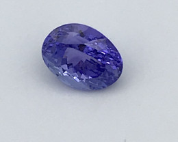 Tanzanite 7.28Ct Natural VVS Blue Tanzanite VJ017