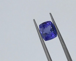Tanzanite 4.05Ct Natural VVS  Blue Tanzanite VJ016