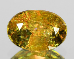 0.55 Cts Untreated Color Changing Natural Demantoid Garnet Gemstone