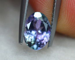 1.08ct Natural Violet Blue Tanzanite Oval Cut Lot GW7299