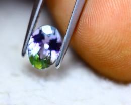 1.13ct Natural Greenish Violet Blue Tanzanite Oval Cut Lot GW7295