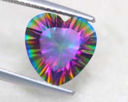 3.61Ct Natural Mystic Topaz Heart Cut Lot LZ5910