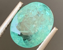 Paraiba 3.26 Carats Natural Color Tourmaline Gemstone