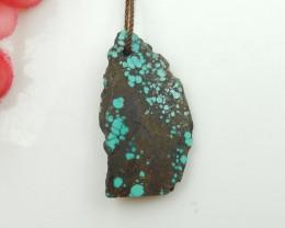 22cts Turquoise Pendant ,Natural Gemstone ,Turquoise Nugget Pendant G108