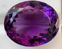 29.10 Carats Amethyst  Gemstone
