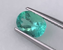 Colombian Emerald Natural Top Quality Amazing Luster 0.94 Cts.