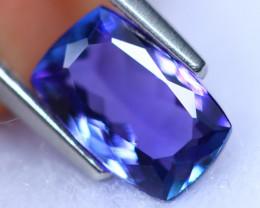 1.62cts Violet Blue D Block Tanzanite / RD1403