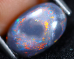 1.18cts Natural Australian Lightning Ridge Black Opal / RD1412