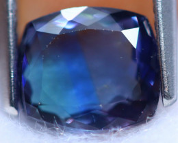 1.83cts Violet Blue D Block Tanzanite / RD1433