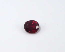 0.53ct Unheated pigeon blood ruby