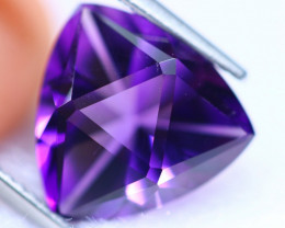 MASTER CUT 4.60cts Natural AAA Purple Colour Amethyst / RD1458