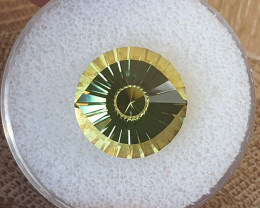 12,85ct Lemon Quartz - Master cut / Cleopatra's eye!