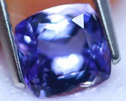1.90cts Natural Violet Blue D Block Tanzanite / RD1448