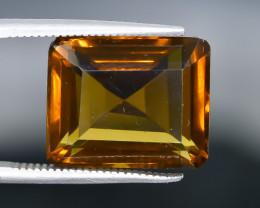 10.33 Crt  Conic Quartz Faceted Gemstone (Rk-26)