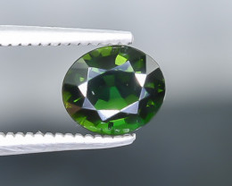 0.78 Crt Chrome Tourmaline  Faceted Gemstone (Rk-26)