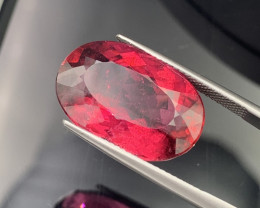 16.15 Cts. Pigeon Blood Color Natural Tourmaline Rubellite Amazing Quality