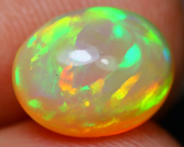 Welo Opal 2.64Ct Natural Ethiopian Rolling Flash Color Welo Opal A2907