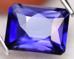 Iolite 2.42Ct VVS Precision Cut Natural Royal Kashmir Blue Iolite A2910