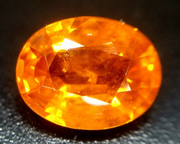 Spessartite, 2.2ct, oval cut, excellent stone!
