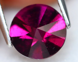 Rhodolite 2.22Ct VS Round Cut Natural Purplish Red Rhodolite Garnet A1427