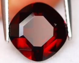 Almandine 3.65Ct VVS Cushion Natural Vivid Blood Red Almandine Garnet A2932